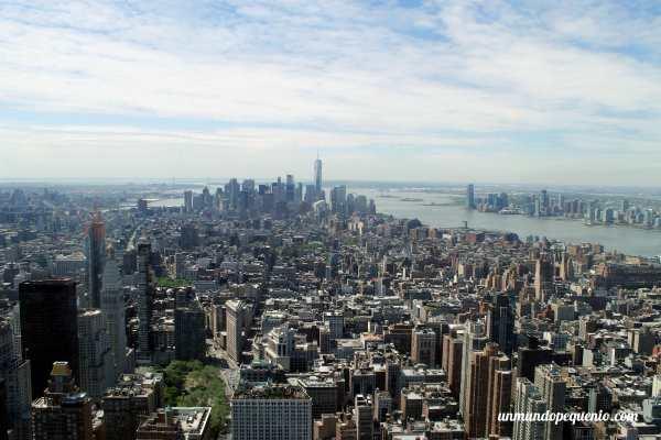 Vista al sur desde el Empire State Building