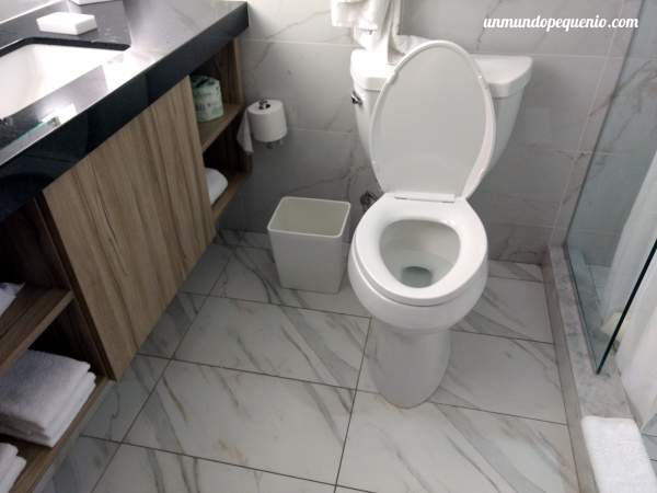 Inodoro baño The Linq Las Vegas