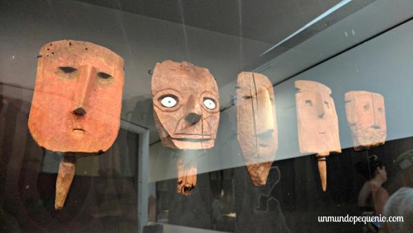 Cabezas funerarias estilos Wari e Ychsma