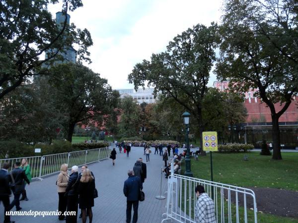 Jardines de Alejandro (Boletería del Kremlin)
