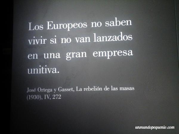 Frase de Ortega y Gasset