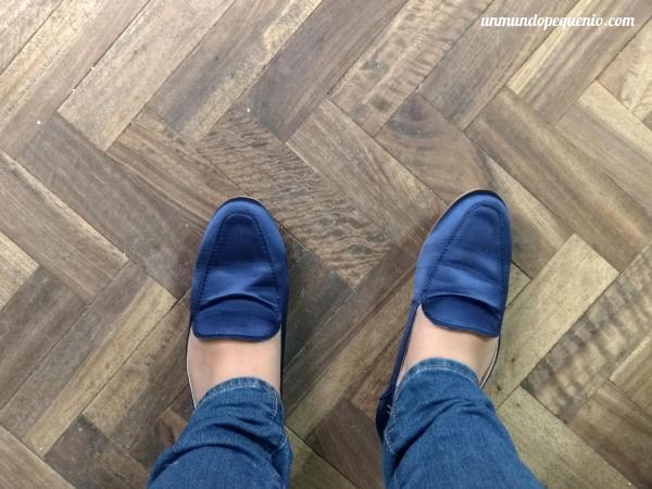 Chatitas azules de Primark