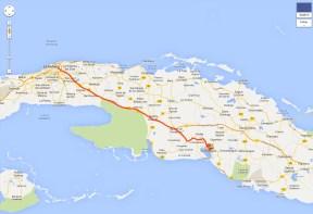 Ruta La Habana - Cienfuegos