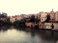 Albi vista desde el río Tarn