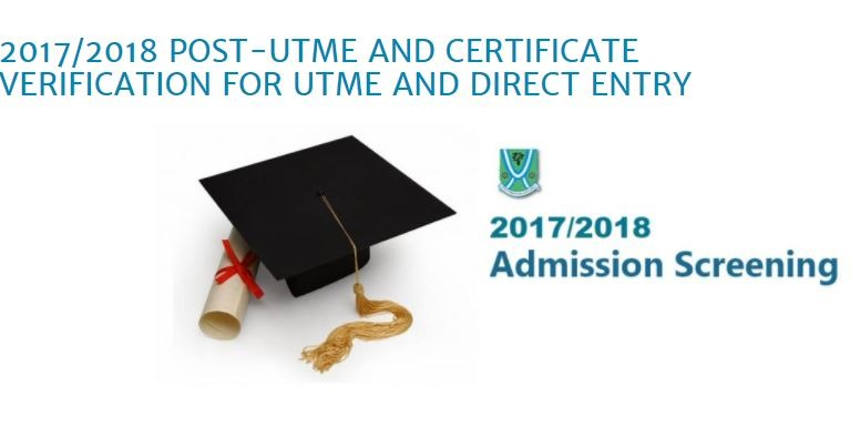 EBSU Post UTME Update - See Schedules For 2017/2018 Admission Screening Excercise