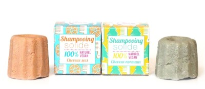 Shampoing solide naturel