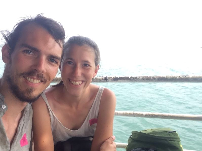 Nous sur le ferry direction Koh Chang