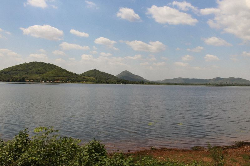 Le Secret Lake de Kampot au Cambodge