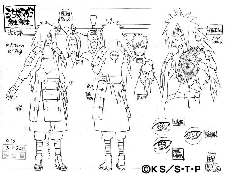 Uzumaki Clan Family Tree