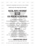Medicine for the People by the People Flyer 2017