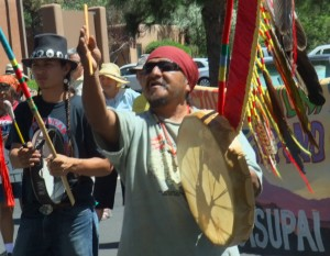 Supai Waters, Keeper of Secrets of the Havsupai tribe, denounces the NMMA.
