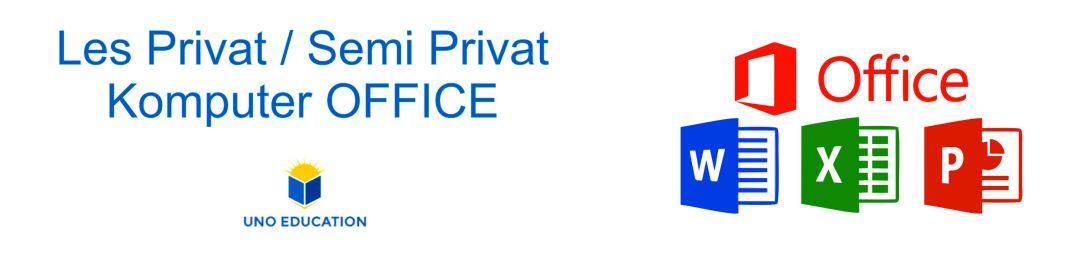 les privat komputer office, les privat komputer microsoft office, kursus komputer office, les komputer privat office, private komputer office