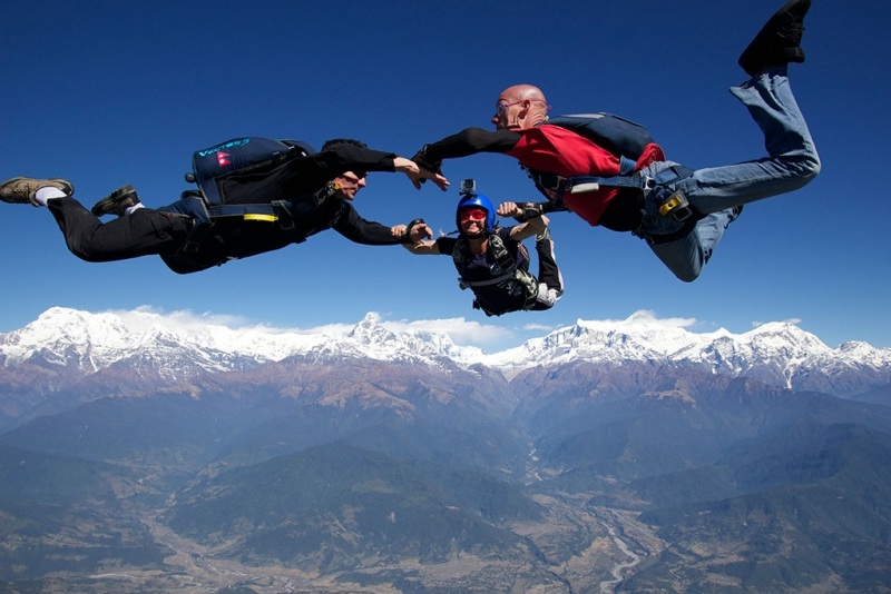 pokhara-skydive-solo-jumpers