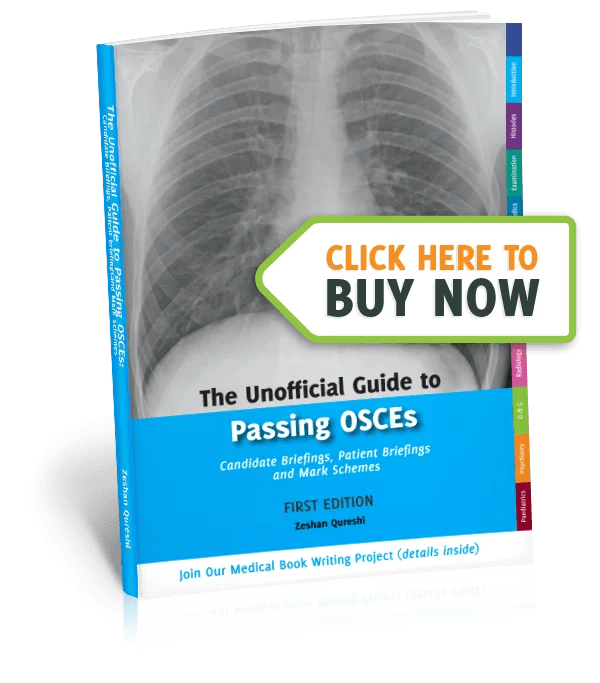 Unoffical Guide To Passing OSCEs Book image one