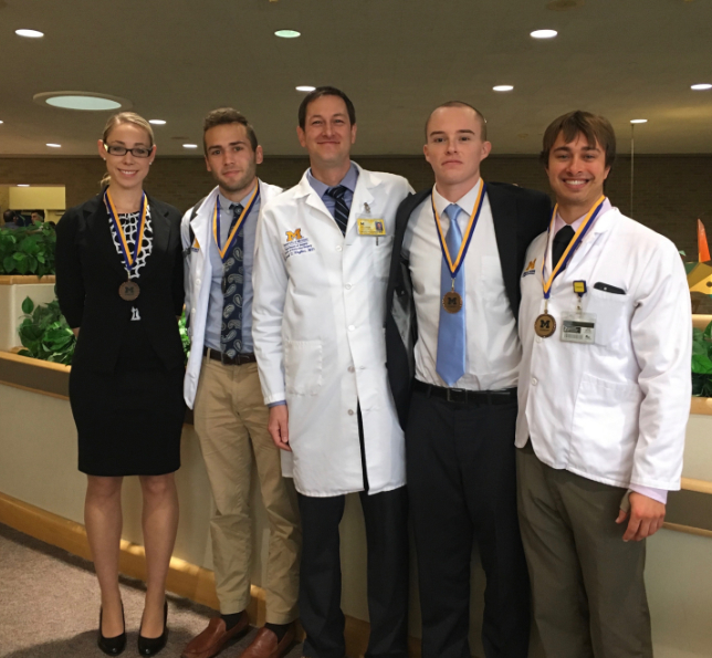 Medical Education Award Stephanie DeBolle and other doctors