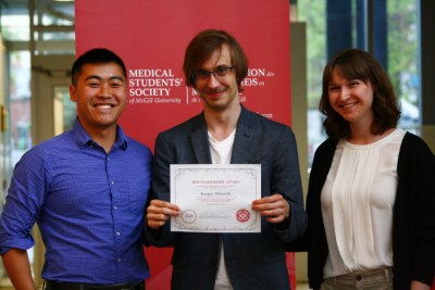 Zeshan Qureshi Award for Outstanding Achievement in Medical Education - Kacper Niburski image 3