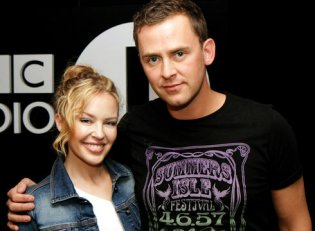 Pop icon Kylie Minogue visits Scott at Radio 1