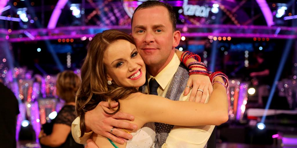 Twitter love-in as Scott is paired up with Joanne Clifton