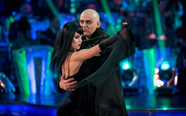 Scott voted off Strictly Come Dancing