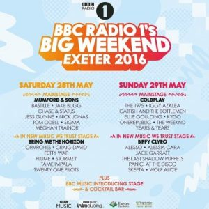 Big Weekend 2016