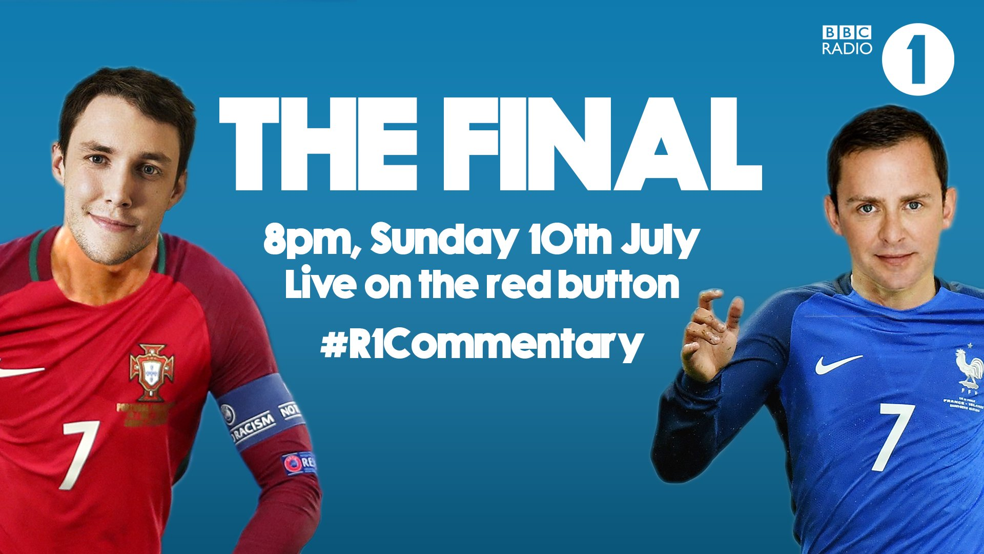 Where to hear Scott and Chris' Euro 2016 commentary