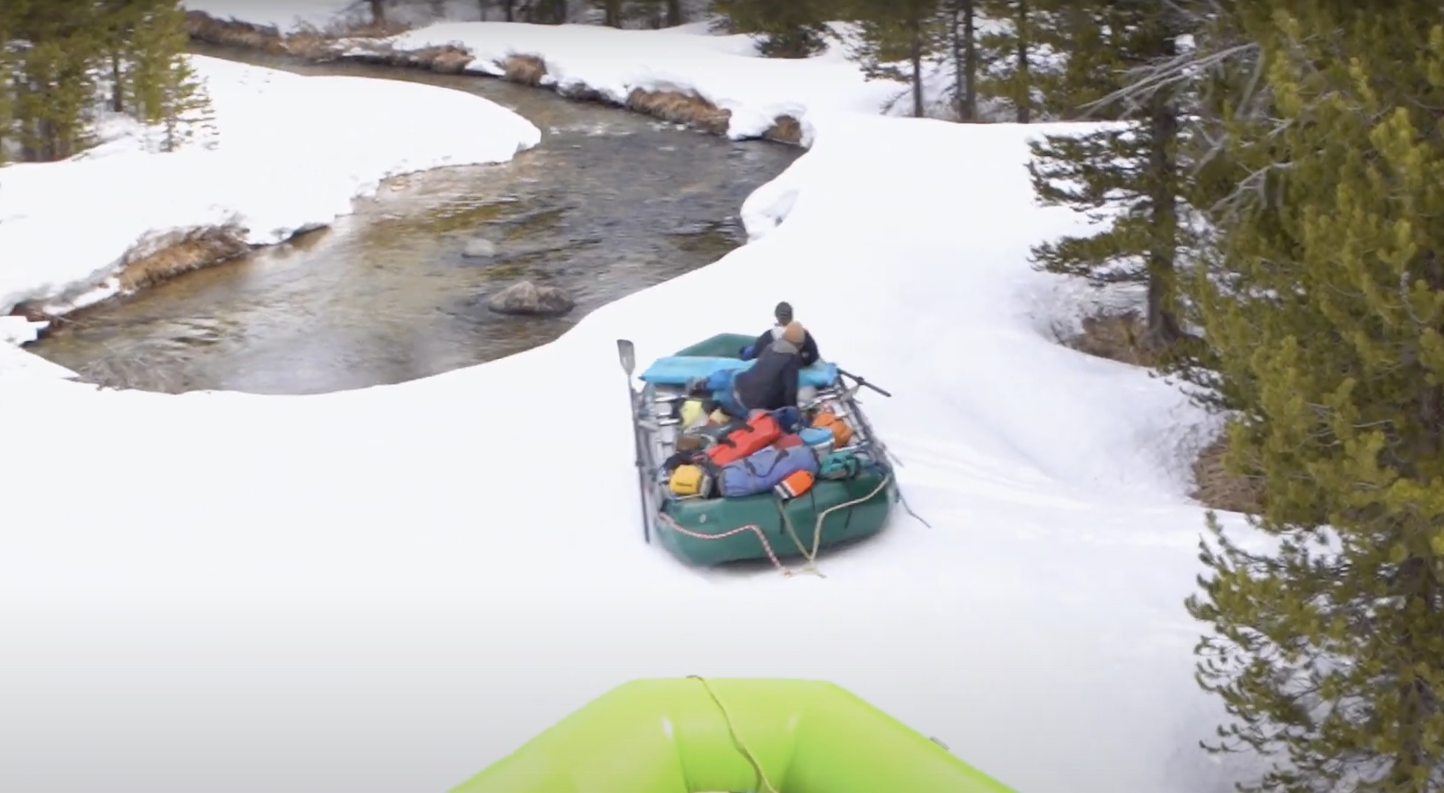 Float to Ski On the Middle Fork of the Salmon River = A Highly Entertaining Video