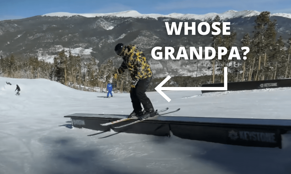 62-Year-Old Rips Park Laps at Keystone