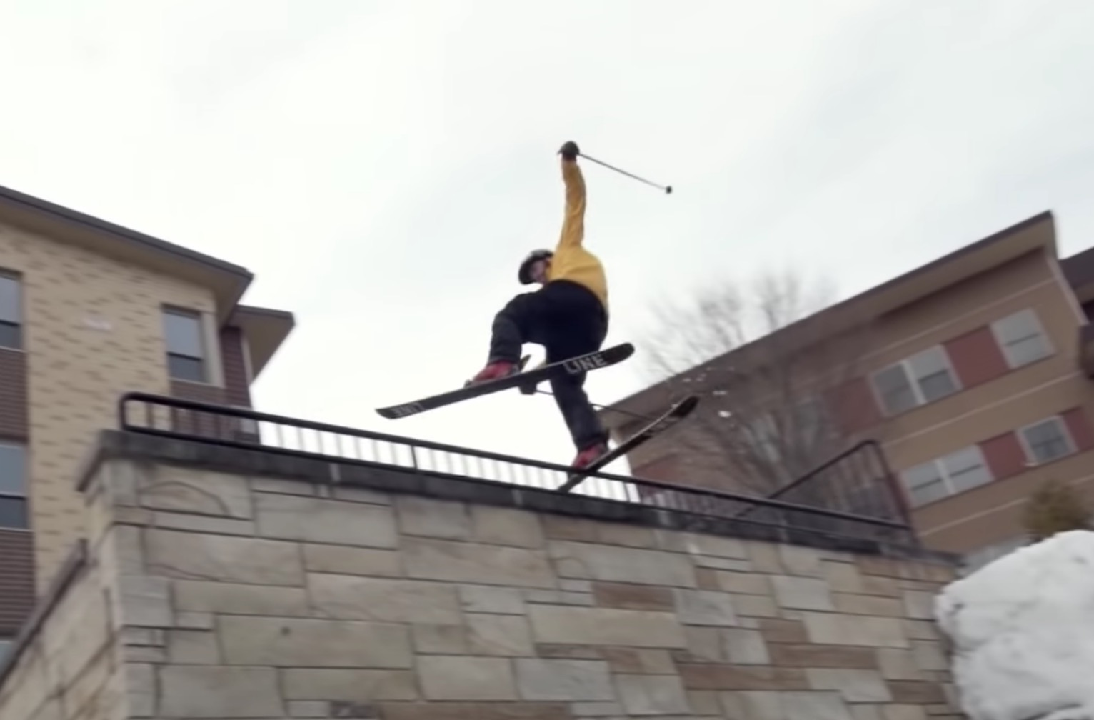 VIDEO: Tom Wallisch & Friends Shred The Streets of Iowa To The Utah Backcountry