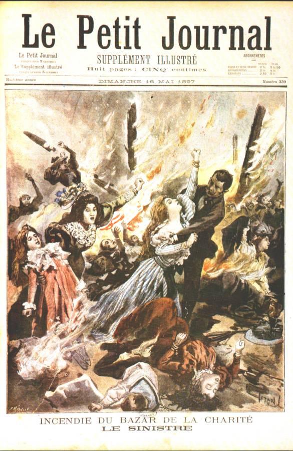 L'incendie Du Bazar De La Charité : l'incendie, bazar, charité, 1897-16-mai-le-petit-journal-le-sinistre-incendie-du-bazar-de-la-charite, Oiseau, Plume