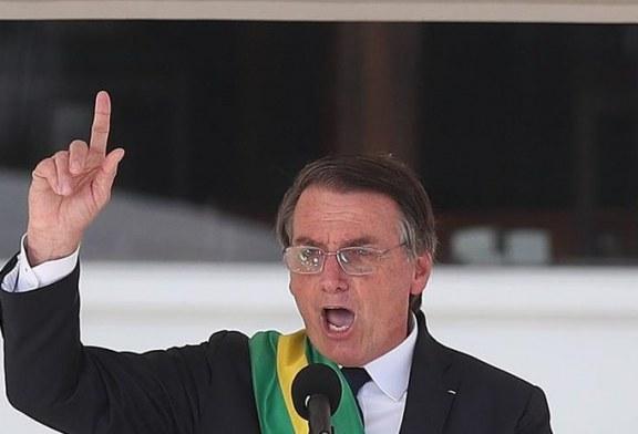 Bolsonaro asume con una dura y directa retórica conservadora