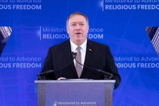 EEUU anuncia un cuerpo internacional para velar por la libertad religiosa
