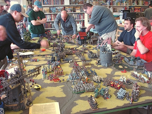 Unorganized Play 8Hour Geekfest Warhammer Megabattle