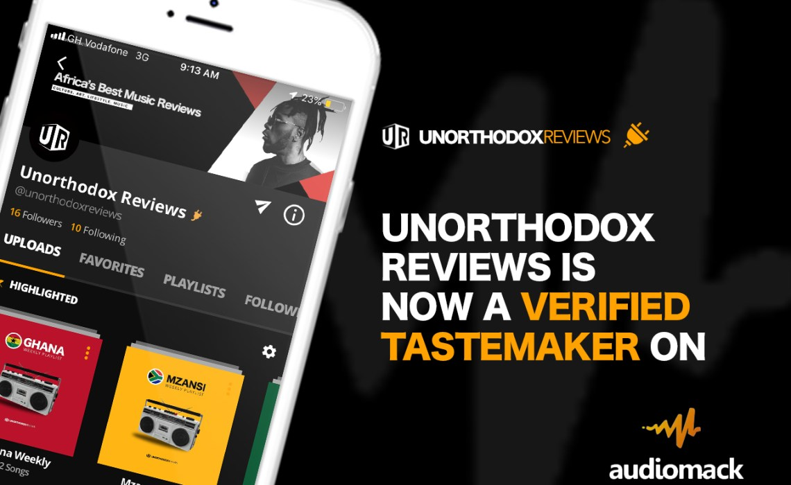 Ghanaian Music Publication, Unorthodox Reviews Is Now A Tastemaker on Audiomack