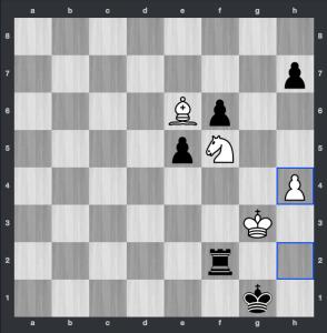 Fressinet-Carlsen dopo 61.h4