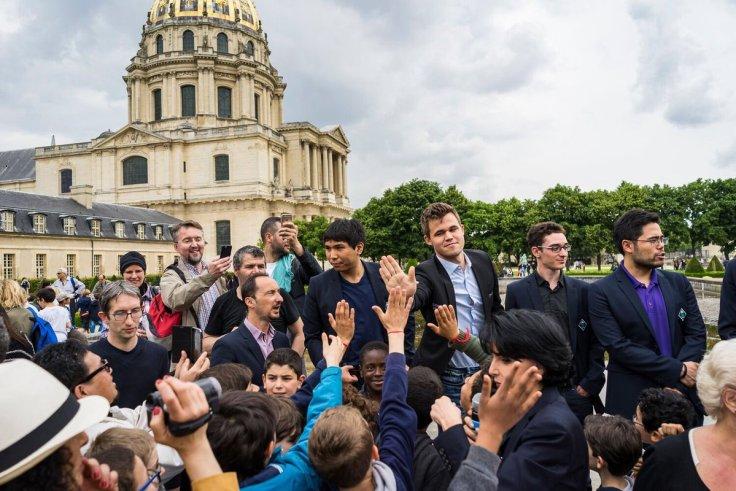 GCT Paris crowd