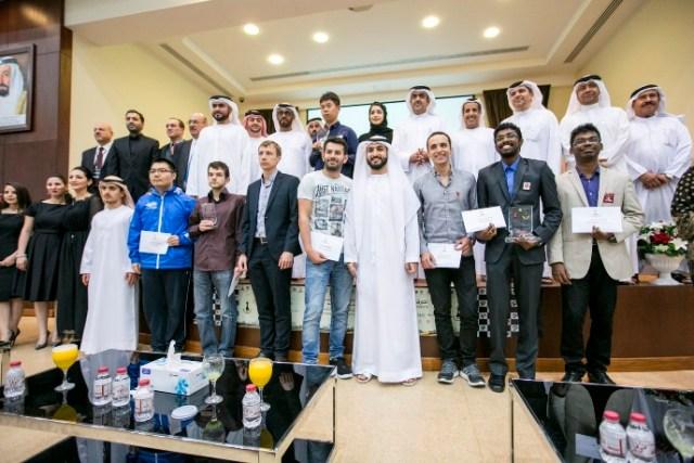 2017 Sharjah Masters - Podium