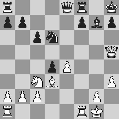 Fischer-Benko dopo 18. ... exd4