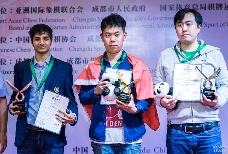 Camp. Ind. Asia 2017 - podio masch