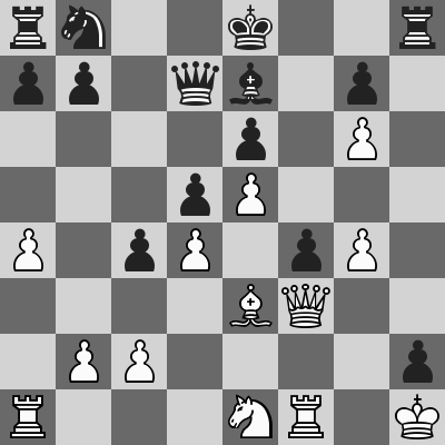 Short-Eljanov dopo 19. ... f4