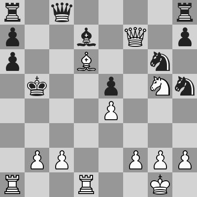 Velimirovic-Kavalek dopo 24. ... bxa6