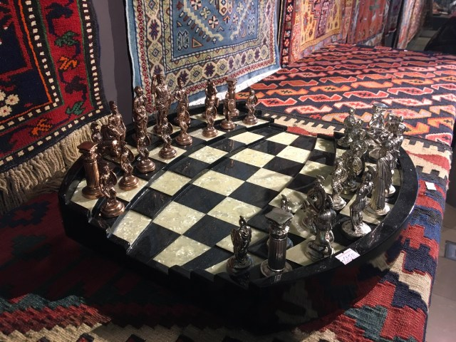 Baku - Weird chessboard