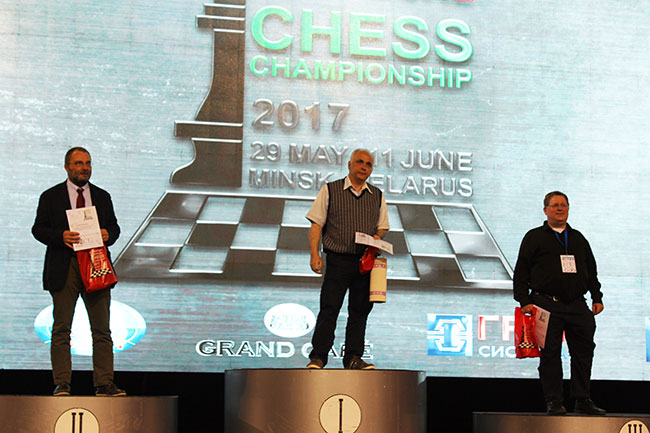 EICC2017 Senior podium