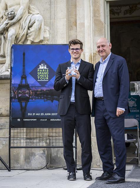 GCT Paris - Carlsen winner