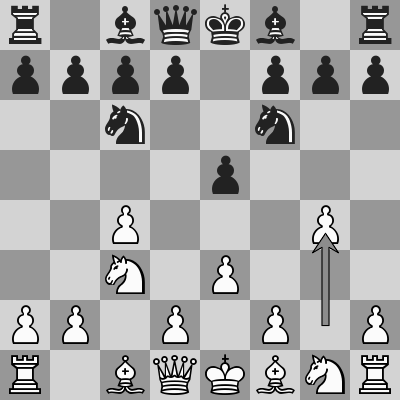 Carlsen-MVL dopo 4. g4