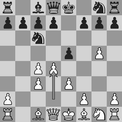 Carlsen-MVL dopo 7. d4
