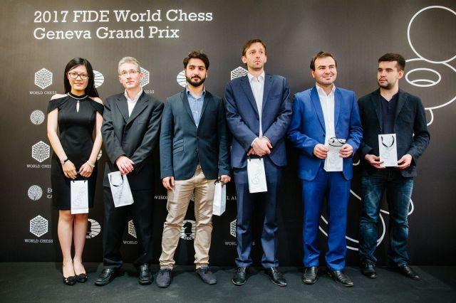 FIDE GP Ginevra - Giocatori