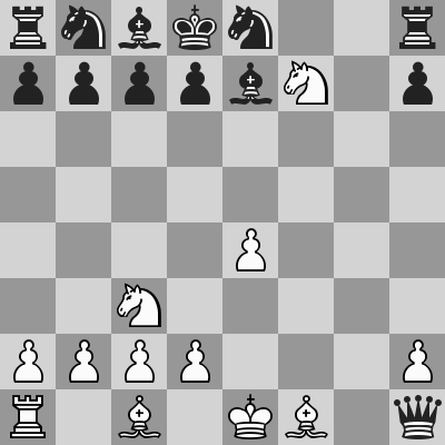 Renold–Agassiz dopo 13. Cxf7#