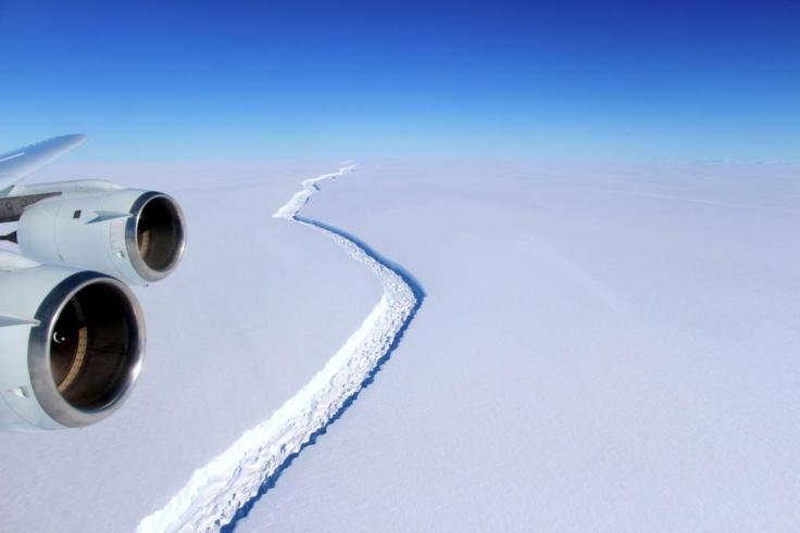 Rift in the Larsen C - CREDIT (NASAJohn Sonntag) M