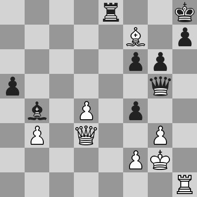 Kasparov-Nepo dopo 35. Af7