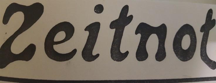 Zeitnot (testata della rivista)